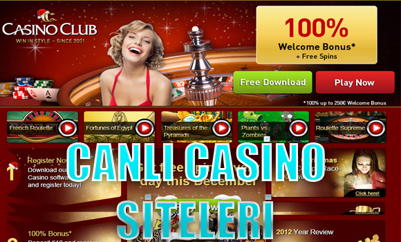 Canlı casino sitelerinde oyun oynama, En iyi yabancı canlı casino siteleri, canlı casino siteleri