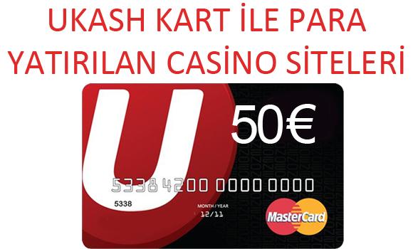 ukash kart ile casino sitelerine para yatırma, Ukash kart ile para yatırılan casino siteleri, Ukash kart ile ödeme kabul eden casino siteleri